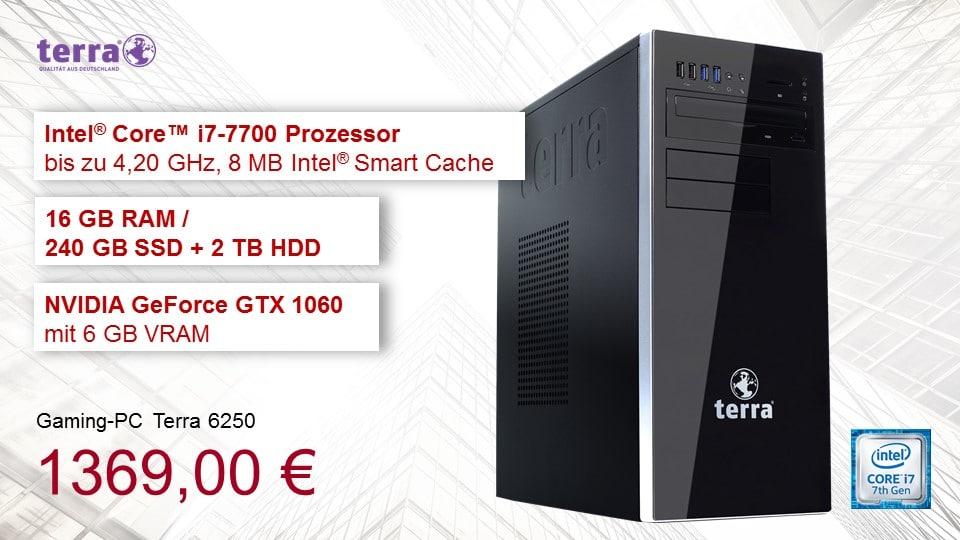 Terra i7-7700 Intel PC