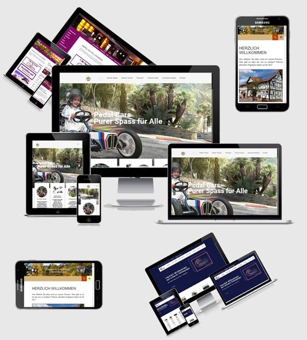 Homepage-Beispiele