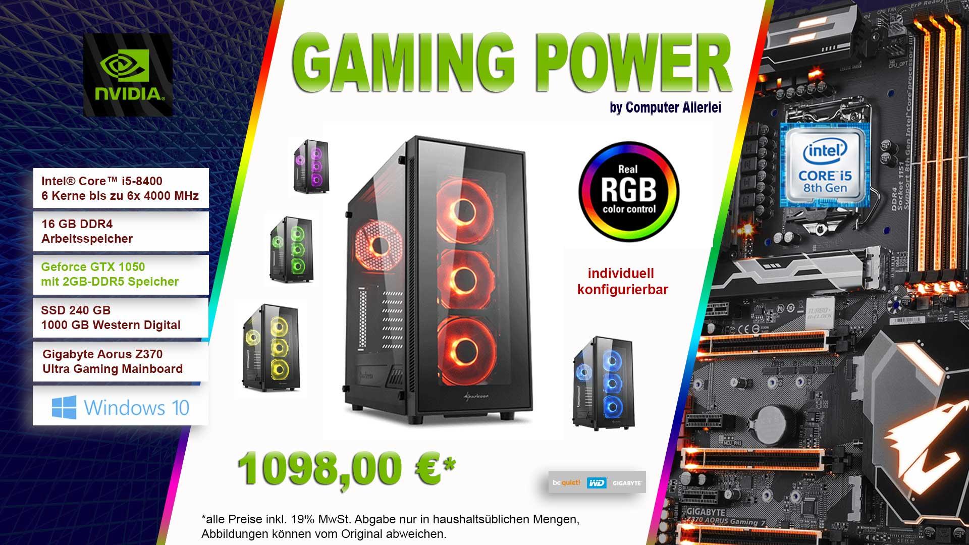 Gaming-PC-GTX1050-by-Computer-Allerlei-Spezial