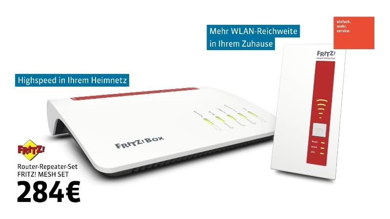 Computer Allerlei AVM Mesh-Router-Repeater